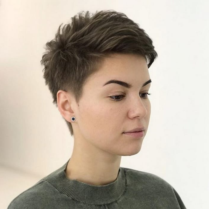 Super Very Short Pixie Haircuts 2018 Options And Trends In Well Known Tousled Pixie Hairstyles With Super Short Undercut (View 7 of 20)