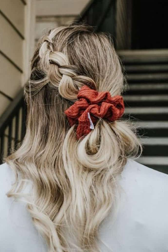 The '90s Comeback Trend That Refuses To Retire: Scrunchie Throughout Current Scrunchie Hairstyles (View 12 of 20)