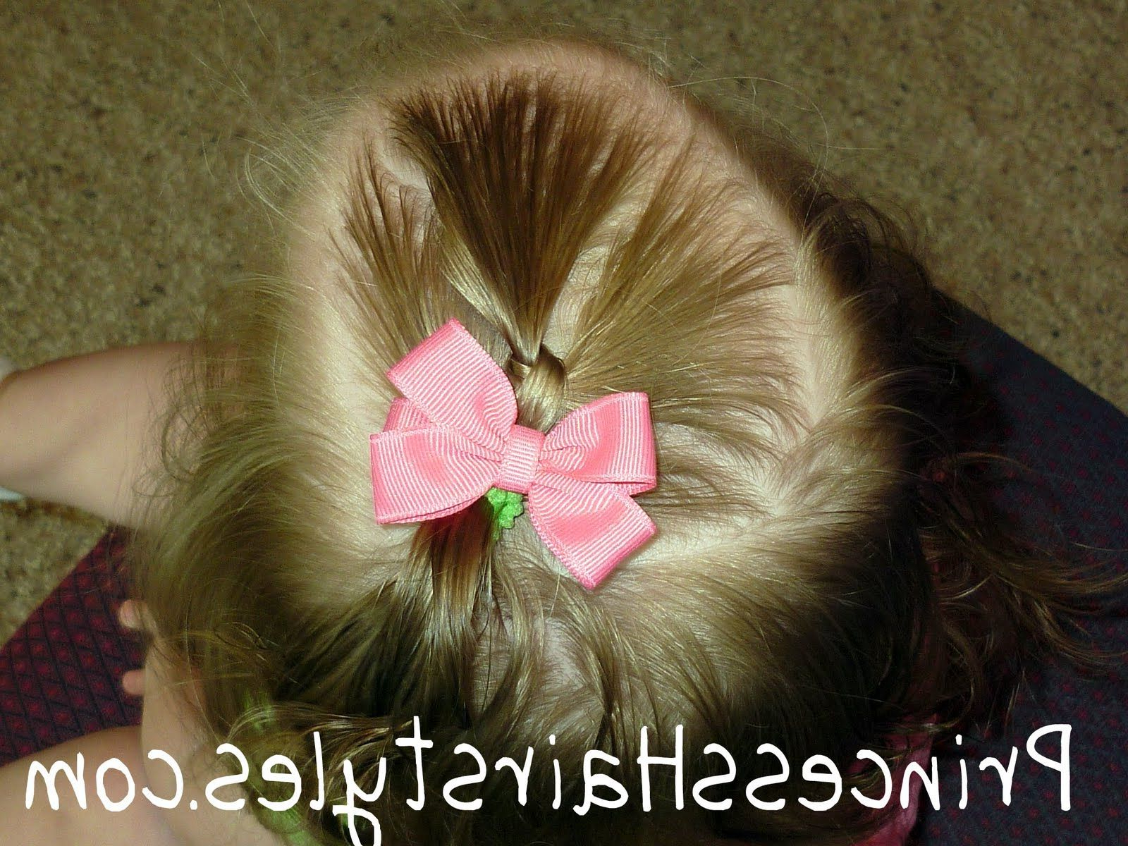 Toddler Hairstyles, Quick Ponytail Knot (View 18 of 20)