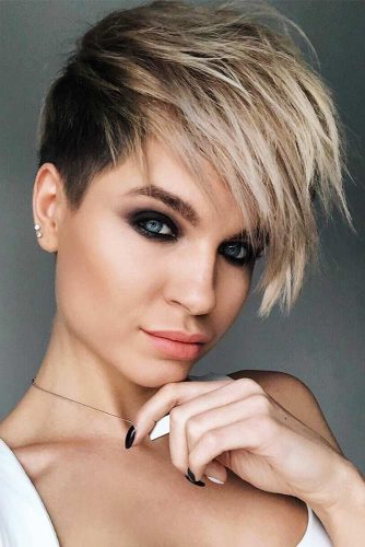 Trendy Disconnected Pixie Hairstyles With 15 Super Daring Disconnected Undercut Styles (View 17 of 20)