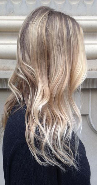 Trendy Hair Color & Balayage : Hair Trends – Natural For Natural Looking Dark Blonde Balayage Hairstyles (View 11 of 20)