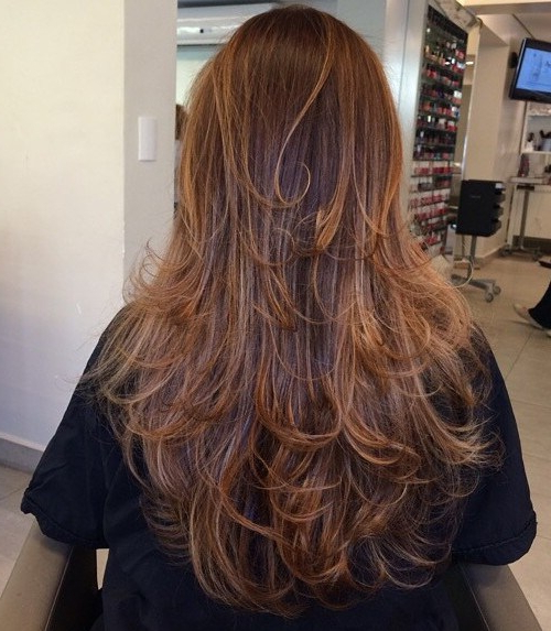 Trendy Layered Ringlets Hairstyles Pertaining To 80 Cute Layered Hairstyles And Cuts For Long Hair – Page (View 8 of 20)