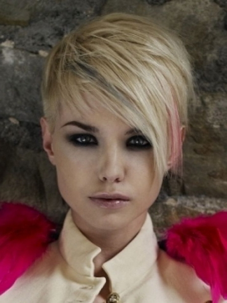Trendy Pixie Haircut With Side Swept Bangs – Fashion 2d For Well Liked Edgy Undercut Pixie Hairstyles With Side Fringe (View 3 of 20)