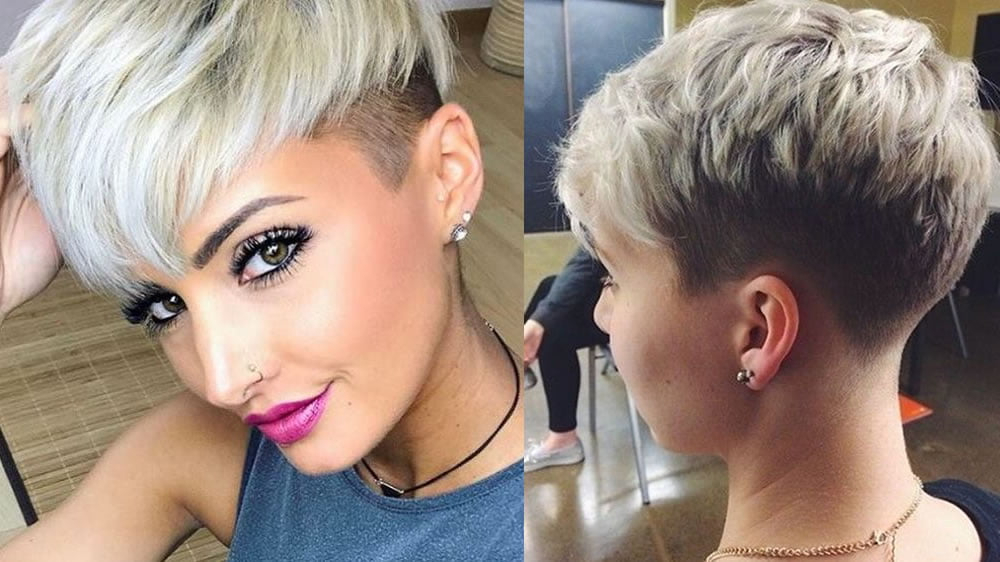Undercut Pixie Hairstyles To Reflect Your Character For In 2018 Feminine Pixie Hairstyles With Asymmetrical Undercut (View 13 of 20)