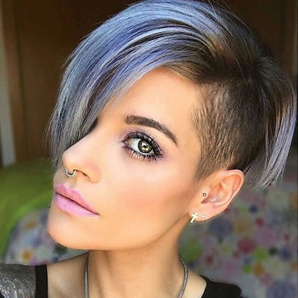 Undercut Short Pixie Hairstyles For Ladies (2021 Update With Regard To Widely Used Pixie Undercuts For Curly Hair (View 8 of 20)