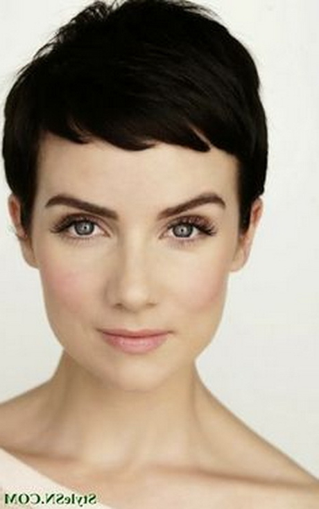 Very Short Pixie Cuts 2014 In Newest Tousled Pixie Hairstyles With Super Short Undercut (View 11 of 20)
