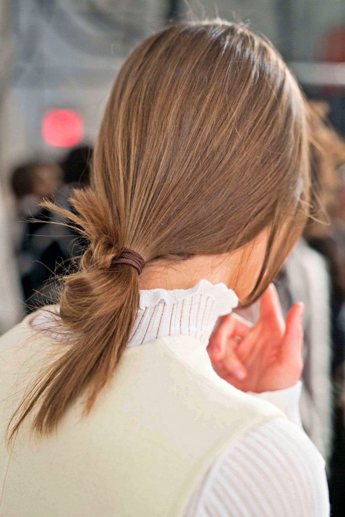 Well Known Baby Ponytails Hairstyles For Low Ponytail: This Hairstyle Trend Is Perfect For Thin Hair! (View 13 of 20)