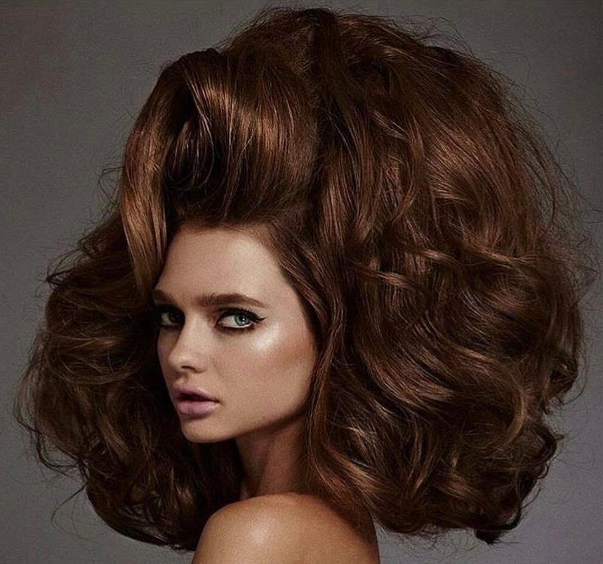 Well Known Big, Natural Curls Hairstyles Pertaining To Piniowa Hair Enthusiast On Hair Up Close September (View 2 of 20)