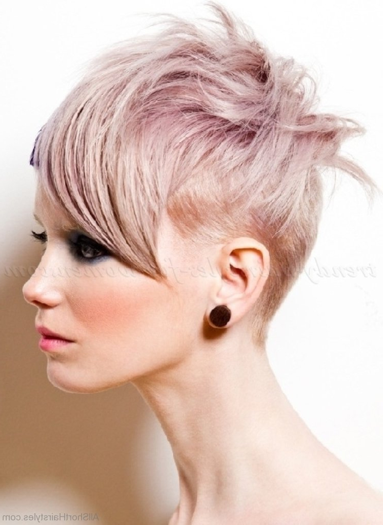 Well Known Classic Undercut Pixie Haircuts With Regard To 70 Adorable Short Undercut Hairstyle For Girls (View 13 of 20)