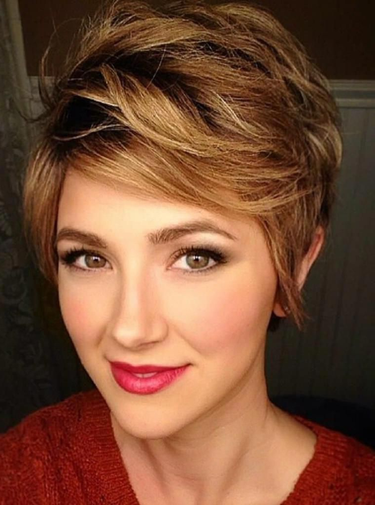 Well Known Edgy Undercut Pixie Hairstyles With Side Fringe In Trending Hairstyles 2019 – Short Pixie Hairstyles # (View 2 of 20)