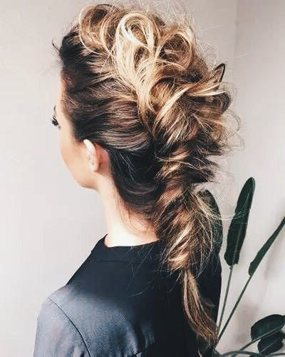 Well Known Gray Faux Hawk Hairstyles With Regard To 28 Trendy Faux Hawk Hairstyles For Women 2021 – Pretty Designs (View 16 of 20)