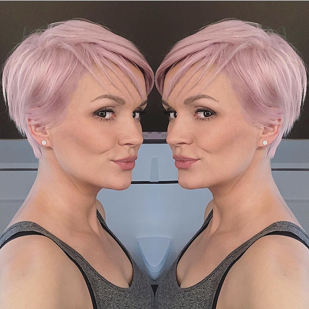 Well Known Pastel Pixie Hairstyles With Undercut Throughout Pin On Haircuts (View 16 of 20)