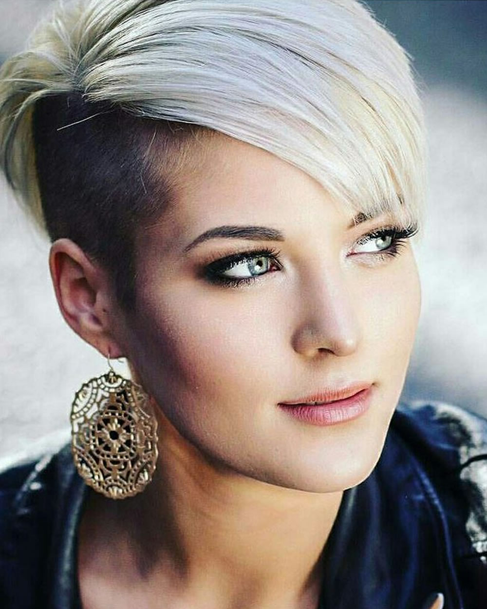 Well Known Pixie Undercuts For Curly Hair Intended For Short Hair Cut 2018 – Bob & Pixie Hair Styles For Ladies (View 5 of 20)