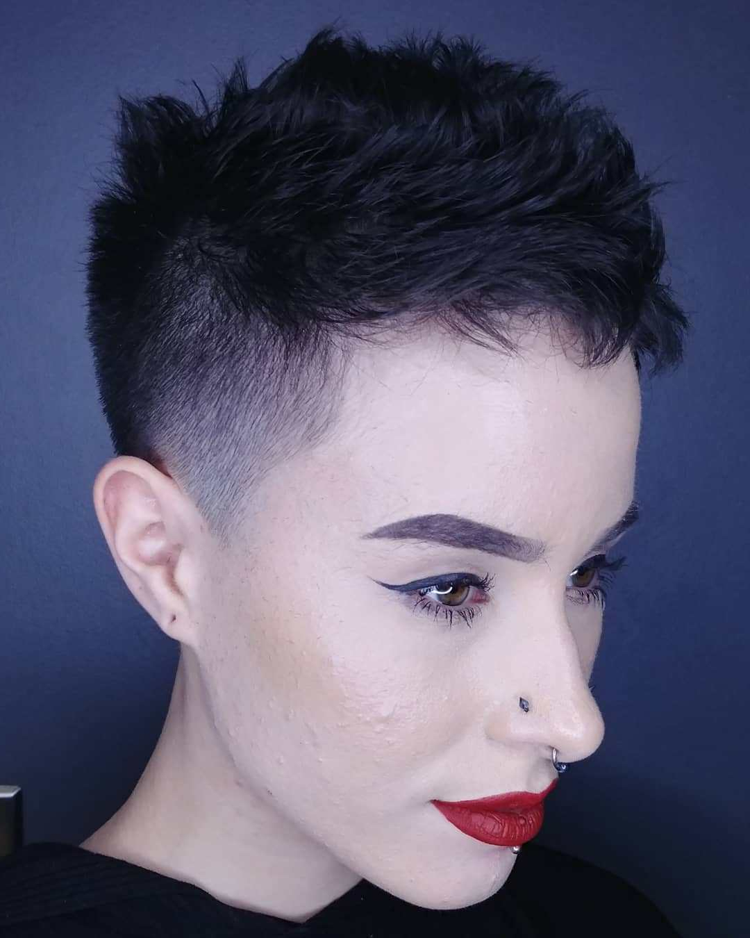 Well Known Shaved Sides Pixie Hairstyles Intended For Short Pixie Cuts With Shaved Sides – 15+ (View 11 of 20)