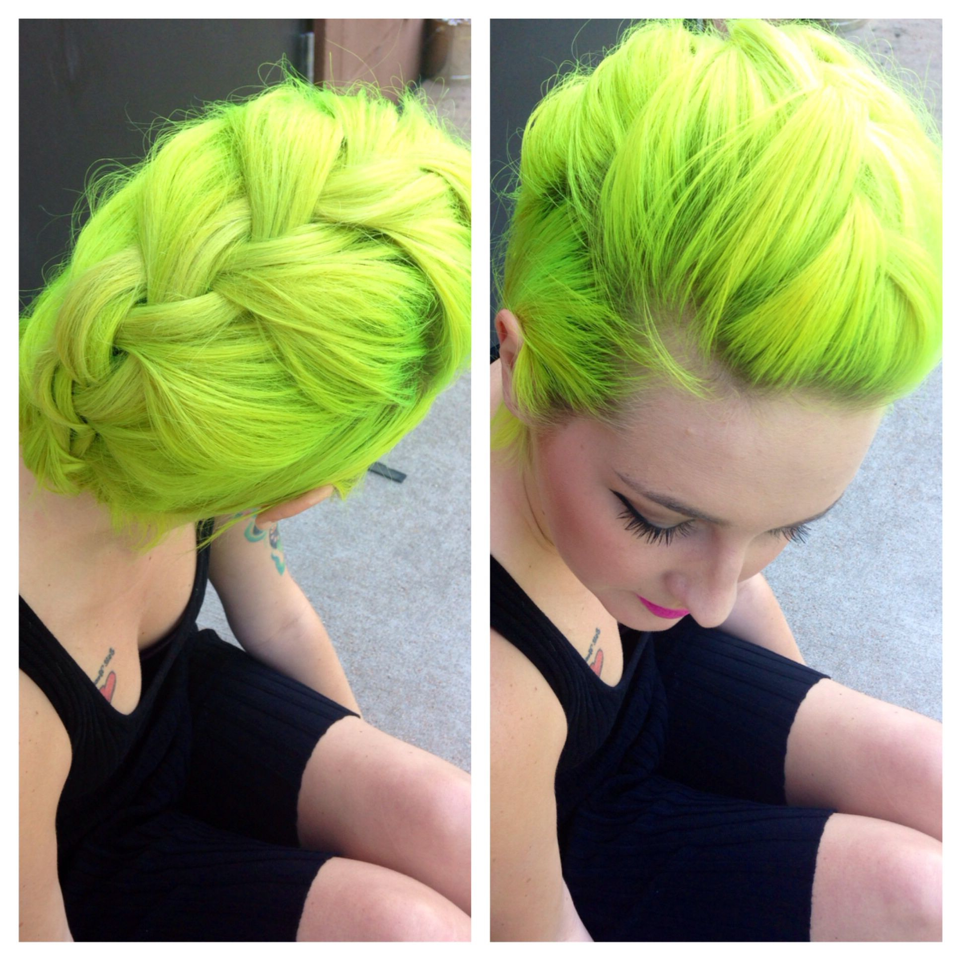 Well Known Sleek Coif Hairstyles With Double Sided Undercut With Regard To Pravana Mohawk Braid (View 7 of 20)