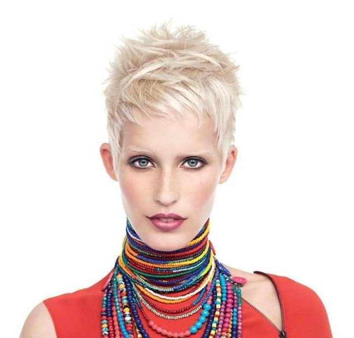 Well Known Spiky Short Hairstyles With Undercut Throughout Opt For The Best Short Shaggy, Spiky, Edgy Pixie Cuts And (View 5 of 20)