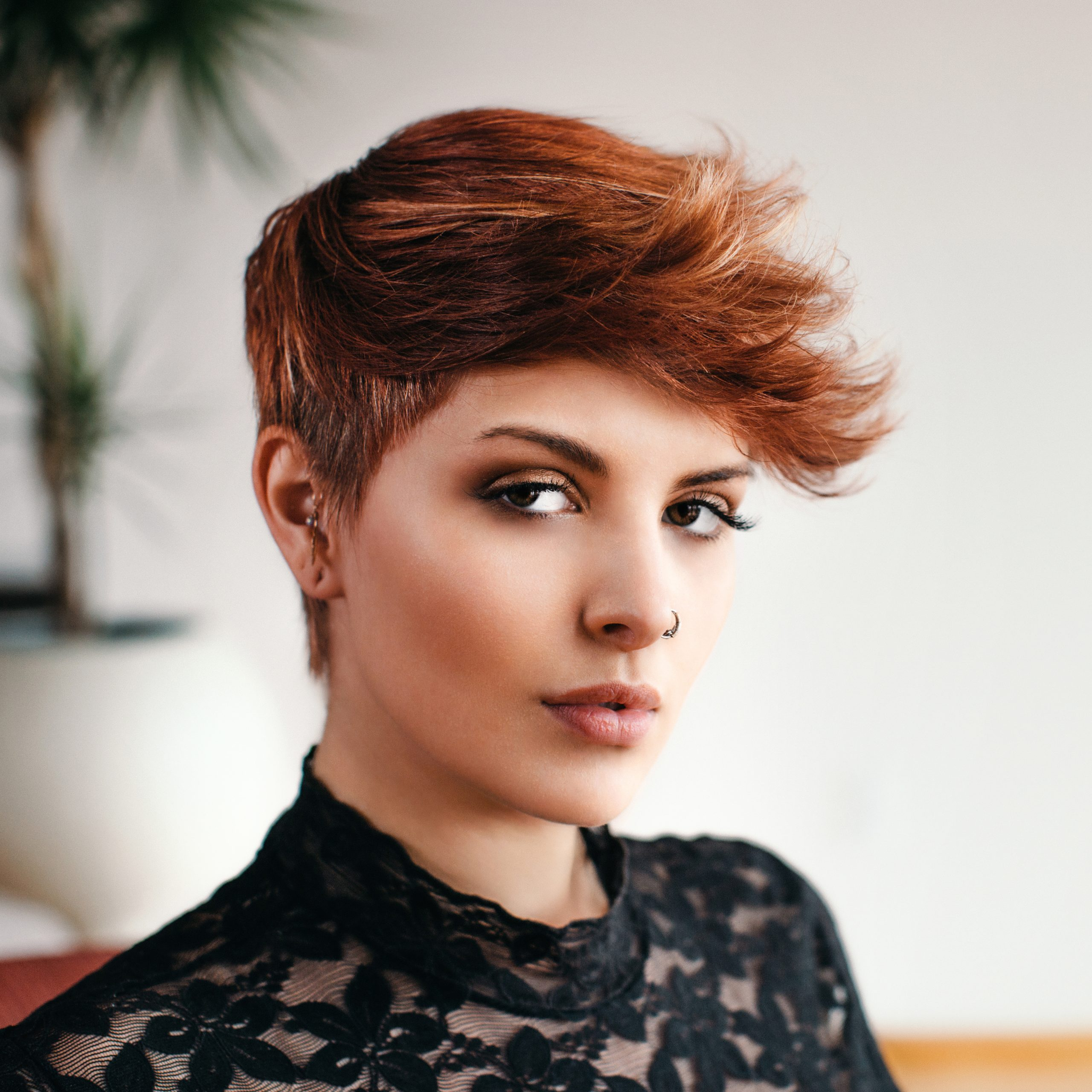 Well Liked Razor Cut Pink Pixie Hairstyles With Edgy Undercut Intended For Razor Cut Pixie – Behindthechair (View 1 of 20)