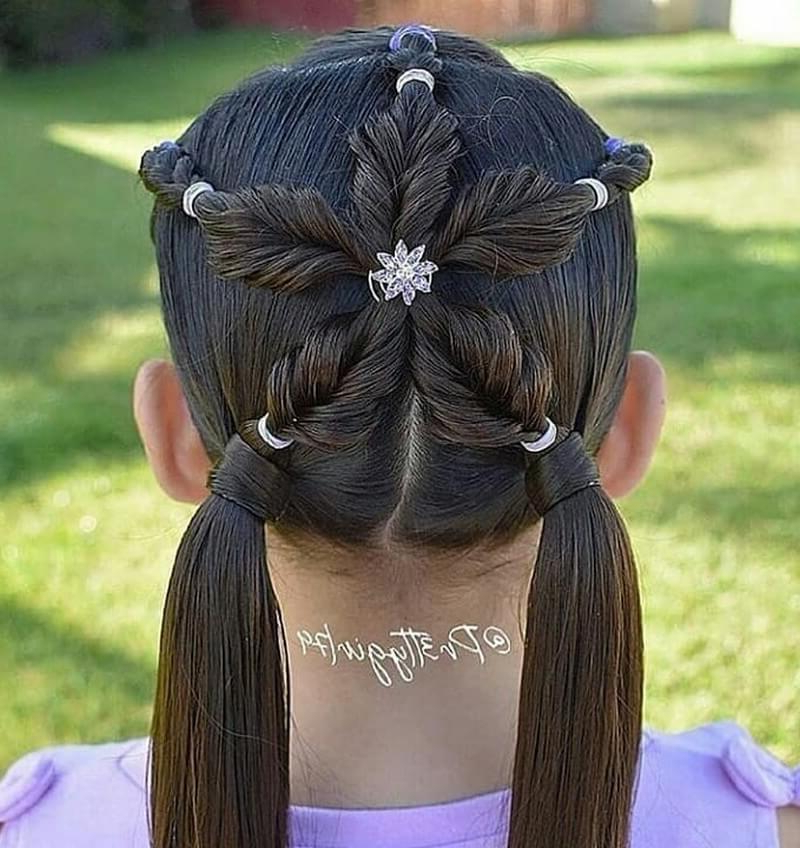 Widely Used Baby Ponytails Hairstyles For 80 Cute Braided Hairstyles For Little Girls (View 10 of 20)