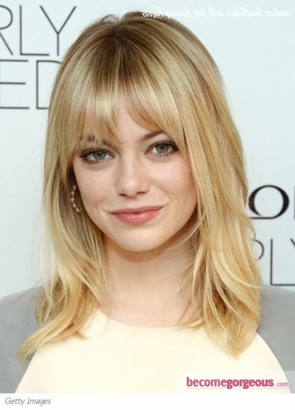 Widely Used Blonde Longer Face Framing Layers Hairstyles Regarding 8 Medium Length Hair With Face Framing Layers – Undercut (View 2 of 20)