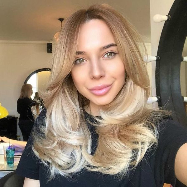 Widely Used Blonde Longer Face Framing Layers Hairstyles Throughout 100+ Long Layered Hairstyles With Bangs For A Feminine (View 8 of 20)