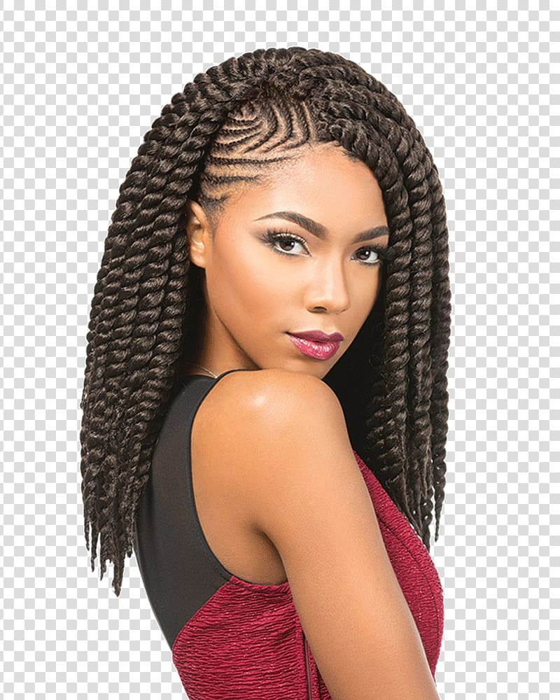 Widely Used Clip Hairstyles Within Hair Twists Crochet Braids Artificial Hair Integrations (View 15 of 20)