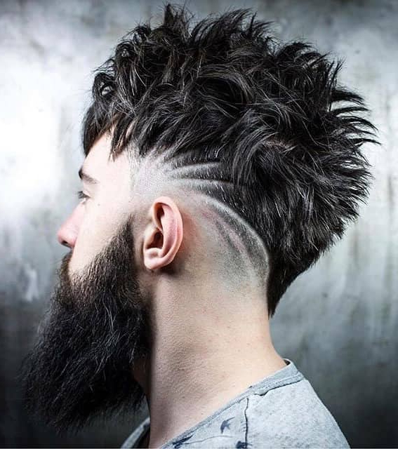 Widely Used Contrasting Undercuts With Textured Coif In 50 Trendy Undercut Hair Ideas For Men To Try Out (View 17 of 20)