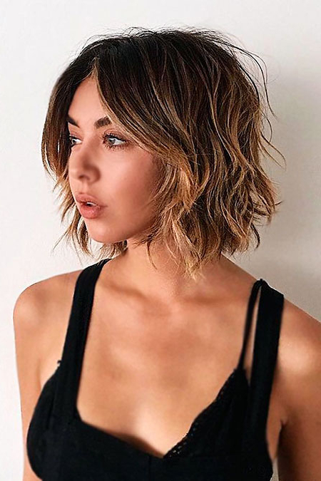 Widely Used Short Messy Bangs Hairstyles For Unique Messy Bob Hair Trend (View 7 of 20)