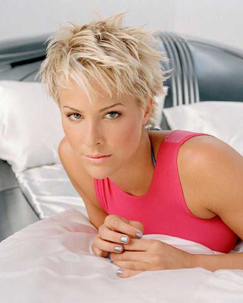 Widely Used Spiky Short Hairstyles With Undercut Inside 20 Spiky Pixie Hairstyles (View 18 of 20)