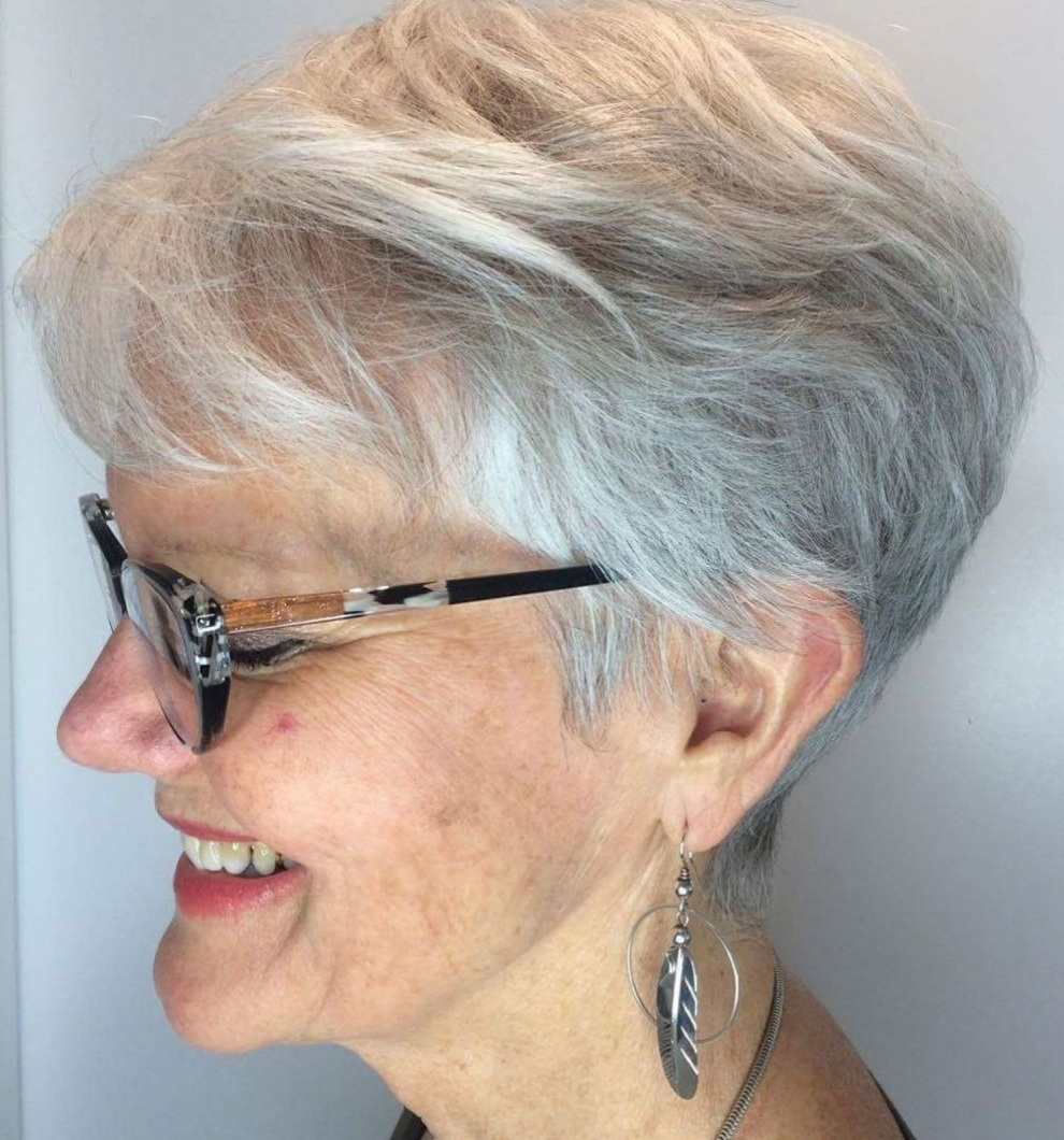 Womens Haircuts Inside Preferred Tapered Pixie Hairstyles With Extreme Undercut (View 10 of 20)
