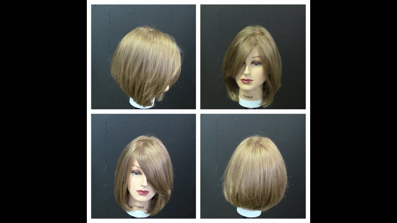 Women's Medium Length Haircut Tutorial With Face Frame Regarding Fashionable Graduated Bob Hairstyles With Face Framing Layers (View 11 of 20)