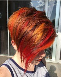 Chic Asymmetrical Haircuts