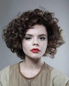 Related About Short Hairstyles For Thick Curly Hair Round Face