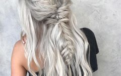 Long Blonde Braid Hairstyles