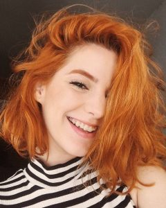 Medium Hairstyles With Red Hair