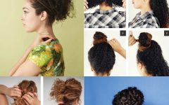 Updo Hairstyles for Super Curly Hair