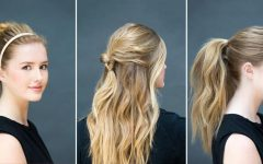 Long Hairstyles Easy and Quick
