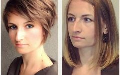 Short Hairstyles for Large Noses