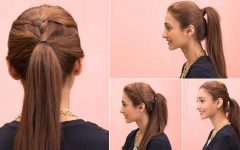 Casual Retro Ponytail Hairstyles