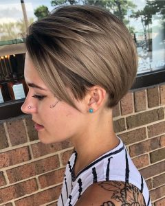 Sleek Pixie Hairstyles