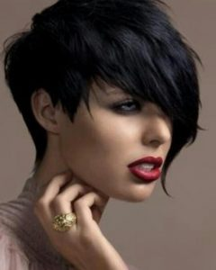 Edgy Short Haircuts For Round Faces