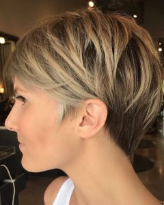Short Wispy Hairstyles for Fine Locks