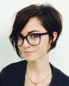 Messy-sassy Long Pixie Haircuts