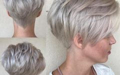 Curly Pixie Hairstyles with V-cut Nape