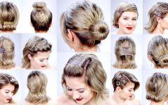Super Easy Updos for Short Hair