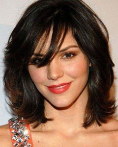 Short Medium Hairstyles For Thick Hair
