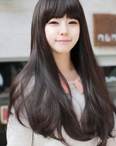 Pretty Korean Hairstyles