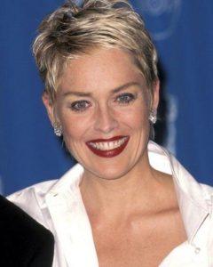 Sharon Stone Short Haircuts