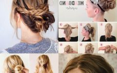Medium Long Hair Updo Hairstyles