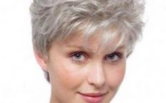 Short Haircuts For Gray Hair