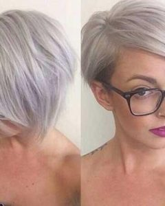 Short Hairstyles For Salt And Pepper Hair